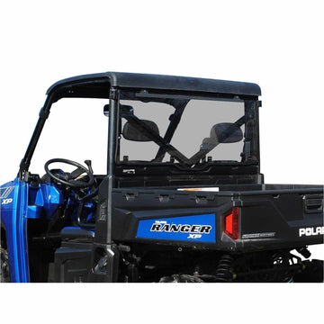 SuperATV Polaris Ranger XP 1000 Scratch Resistant Rear Windshield
