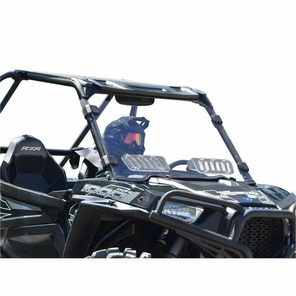 SuperATV Polaris RZR 900 Scratch Resistant Vented Full Windshield - Kombustion Motorsports