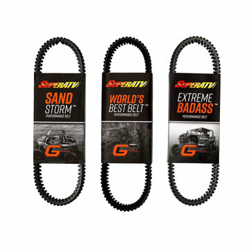 SuperATV Polaris RZR Heavy-Duty CVT Drive Belt
