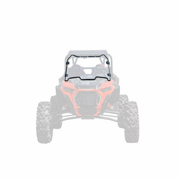SuperATV Polaris RZR XP Turbo S Scratch Resistant Full Windshield