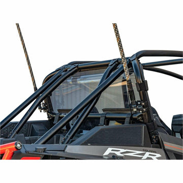SuperATV Polaris RZR XP Turbo S Rear Windshield