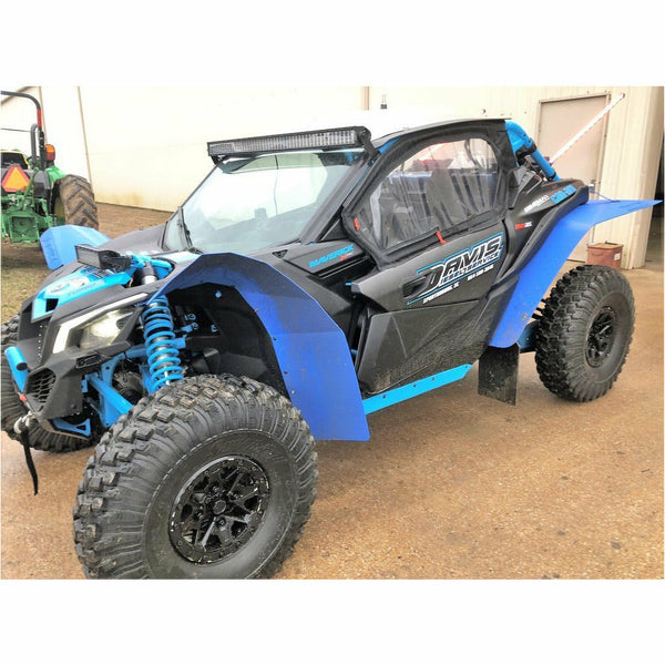Trail Armor Can Am Maverick X3 and X3 Max Super Wide Mud Flap Fender Extensions - Kombustion Motorsports