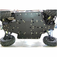 Trail Armor Polaris 2015 RZR S 900, RZR S 900 EPS, RZR 900, RZR 900 EPS TRAIL and RZR 900 XC Full Skids with Slider Nerfs or Trimmed for Polaris Kick Out Steel Rock Sliders - Kombustion Motorsports