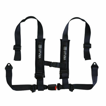 "UTV Mountain Accessories 2"" 4-Point Harness with Auto Buckle"