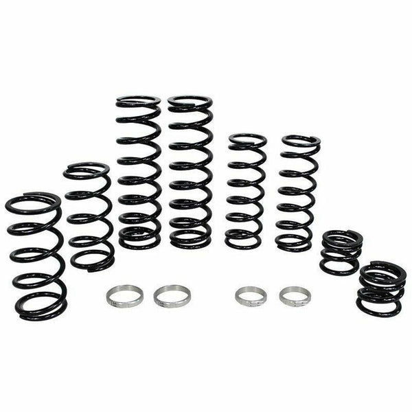 ZBROZ Polaris RZR XP Turbo S Dual Rate Spring Kit Fox Live Valve Shocks - Kombustion Motorsports