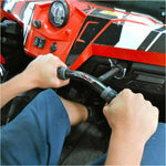 ZBROZ RZR XP 900 / RZR XP 1000 / RZR XP TURBO Ergo Passenger Grab Handle with Lug Wrench - Kombustion Motorsports