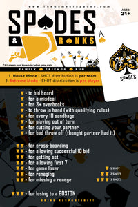 Spades & Dranks game-set