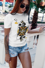 Load image into Gallery viewer, Queen of Spades Graphic Tee