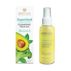 Superfood Skin Brightening Cleansing Oil With Avocado Oil & Broccoli Seed Oil