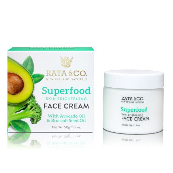 Superfood Skin Brightening Face Cream With Avocado Oil & Broccoli Seed Oil