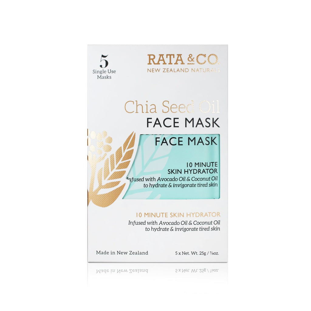 Chia Seed Oil Face Mask 5pack