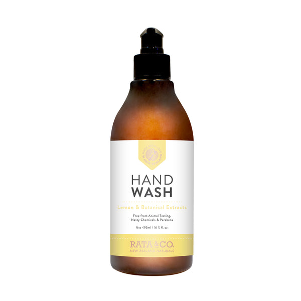 Lemon & Botanical Extracts Hand Wash