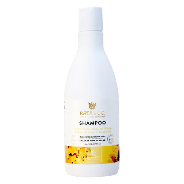 New Zealand Manuka Honey, Wheat Protein & Jojoba Shampoo