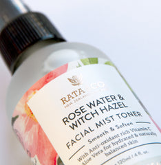 Rose Water & Witch Hazel Facial Mist Toner