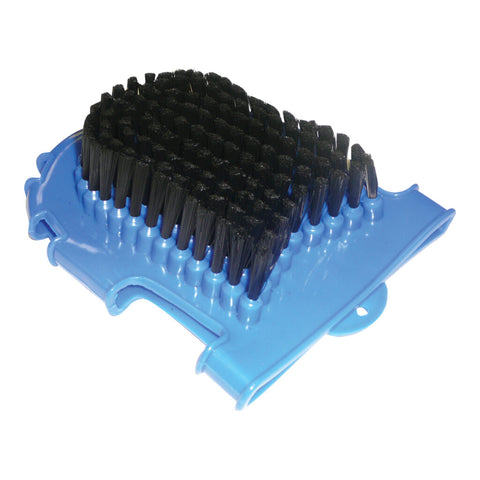 Wash Mitt with Brush