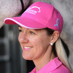 Saddleworld Pink Ribbon Cap