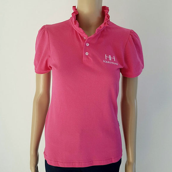 Hampton & Harlow Ladies Pink Polo Shirt