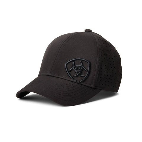 ARIAT TRI FACTOR CAP BLACK