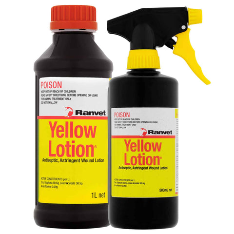 Yellow Lotion