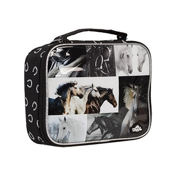 Black and White Horse Lunch Box