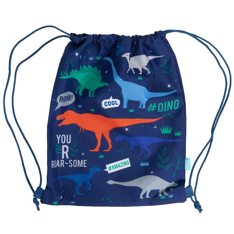 Dino Roar Junior Drawstring Bag