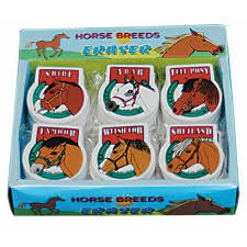 Horse Breed Erasers