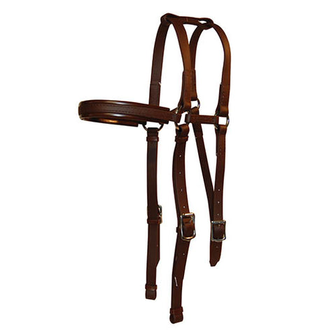 PVC Double Barcoo Bridle