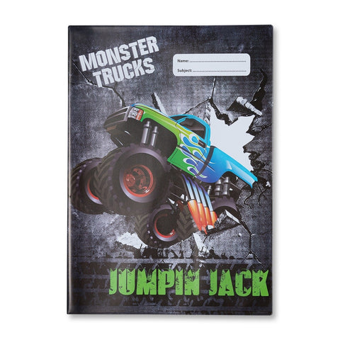 Monster Truck A4 Book Cover