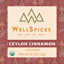 Load image into Gallery viewer, Ceylon Cinnamon (30 Packets, 1 Tsp Packets)
