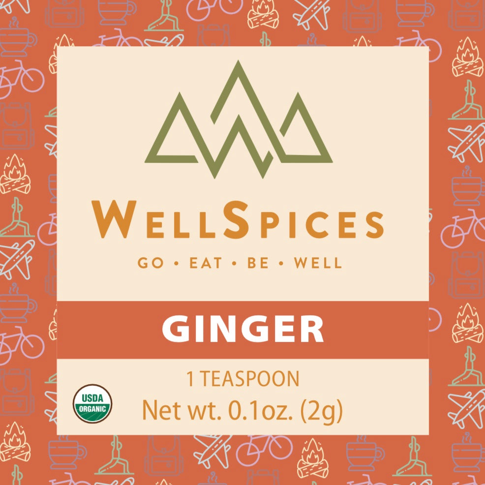 Ginger (30 Packets, 1 Tsp Packets)