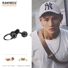 Load image into Gallery viewer, Weight Plate Ear Stud, Ear Clip, Set Earring