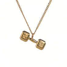 Load image into Gallery viewer, Ladies Dumbbell Necklace