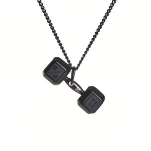 Ladies Dumbbell Necklace