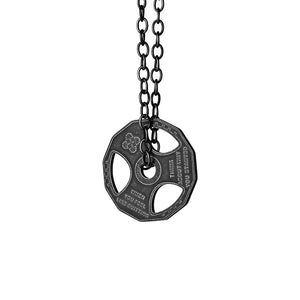 Oversize Weight-plate Necklace/Car Pendant