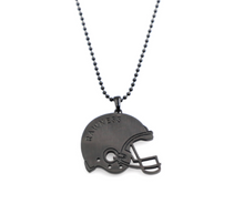 Load image into Gallery viewer, Football Helmet Necklace