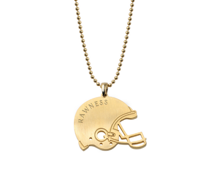 Football Helmet Necklace