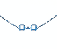 Load image into Gallery viewer, RAWNESS Logo Dumbbell Chain