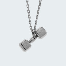 Load image into Gallery viewer, Mini Dumbbell Necklace
