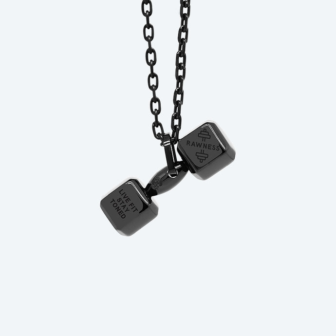 Mini Dumbbell Necklace