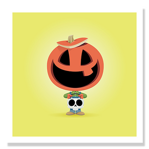 Trick Or Treaters - 5x5 Prints