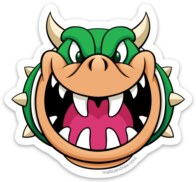 Say Hello to the Bad Guy video game series - Bowser - Super Mario Bros