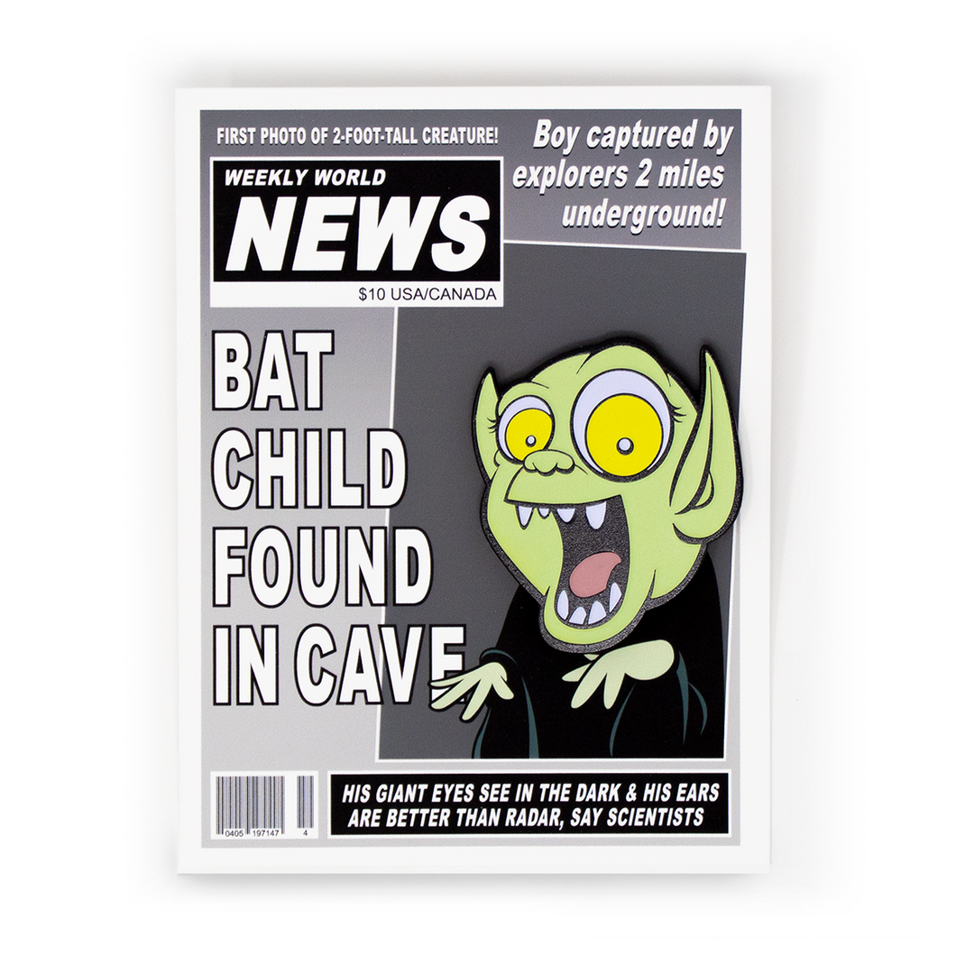 Bat Boy Pin