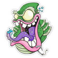 Load image into Gallery viewer, Creature from the Black Lagoon Fink - Sticker