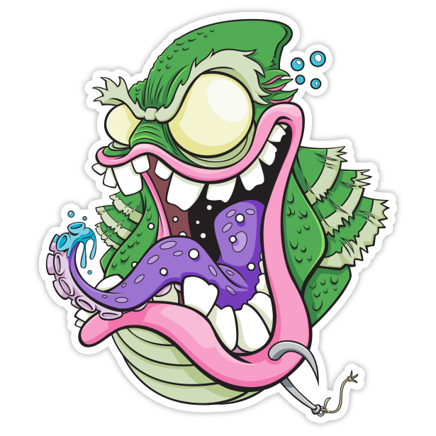 Creature from the Black Lagoon Fink - Sticker