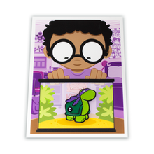 Load image into Gallery viewer, TMNT Donatello Pin