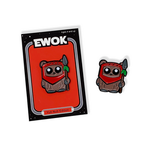 EWOK Yub Nub Edition Pin and Backer