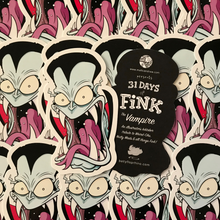 Load image into Gallery viewer, The Vampire Fink - Sticker