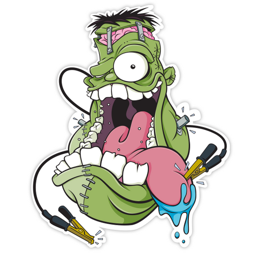 Frankenstien's Monster Fink - Sticker