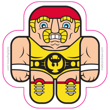 Load image into Gallery viewer, Wrestling Buddies Action Pack (prints and stickers)