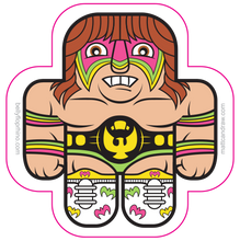 Load image into Gallery viewer, Wrestling Buds sticker 2 pack